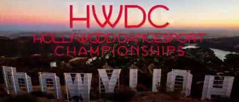 Hollywood Dancesport Championships HWDC 2017 promo